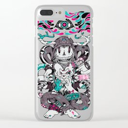 Chaos Theory Clear iPhone Case