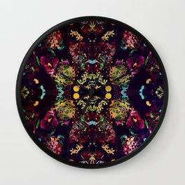 PD Flower  Wall Clock