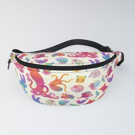 Cephalopod - pastel Fanny Pack