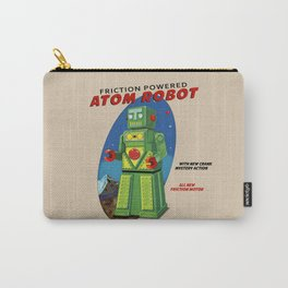 Atom The Toy Robot Carry-All Pouch