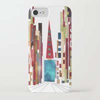 buildings iPhone & iPod Cases featuring Buildings by March Hunger