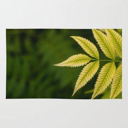 Plant Patterns - Leafy Greens Rug
