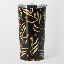 gold nature Travel Mug