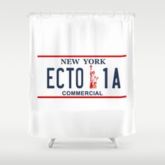 Ecto-1A Shower Curtain