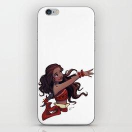 Moana dance iPhone Skin