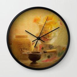Finest Teas Wall Clock