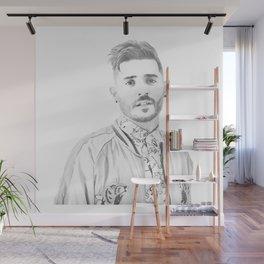 Jon Bellion Illustration Wall Mural