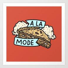 A La Mode Art Print