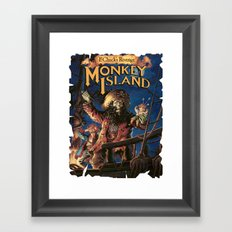 Monkey Island 2  Framed Art Print