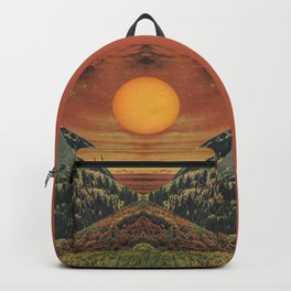 Sunset vibes Backpack