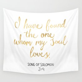 Song of Solomon 3:4 - Customer Request Wall Tapestry