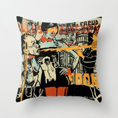 Freud Throw Pillow