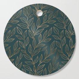 Botanical Pattern - Bronze N7 Cutting Board