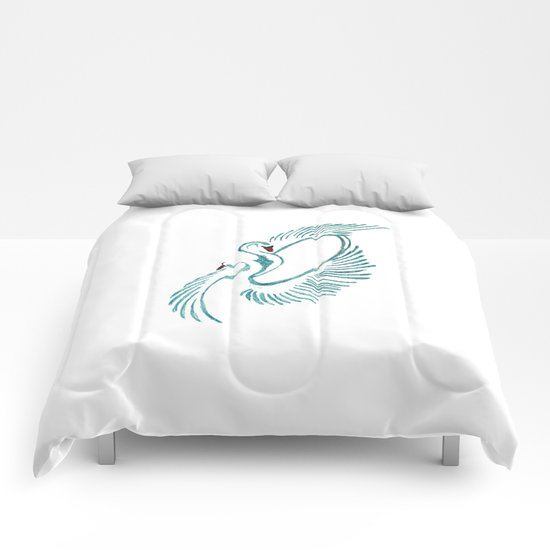Swans Comforters