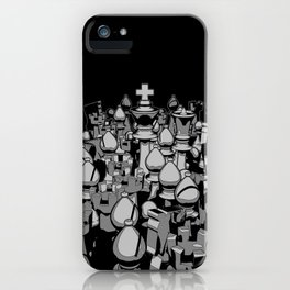 The Chess Crowd iPhone Case