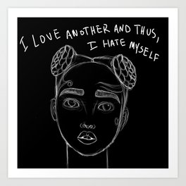i love another Art Print