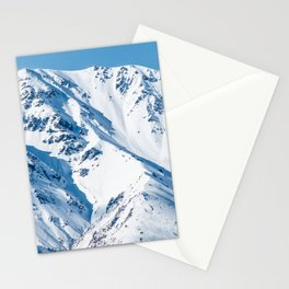 Mountain Nature Landscape Winter Mountain Photograph Stationery Cards