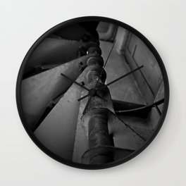 Old Factory 4 Wall Clock