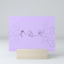 BTS LOVE YOURSELF Mini Art Print