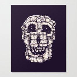Voluptuous Death Canvas Print
