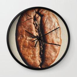 Coffeeholic Bean Wall Clock