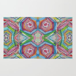 Beach Umbrellas Rug