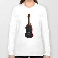 music Long Sleeve T-shirts featuring music  by mark ashkenazi