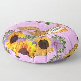 RWBY - Sunflower Pop the Question (Flight of the BMBLBs) Floor Pillow