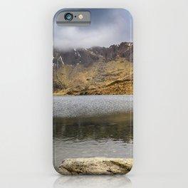 Lake Idwal Winter iPhone Case