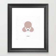 Pedigree: Poodle Framed Art Print