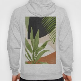Abstract Art Tropical Leaf 11 Hoody