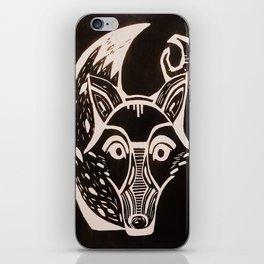 Luna Zorro iPhone Skin