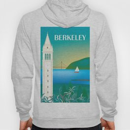Berkeley, California - Skyline Illustration by Loose Petals Hoody
