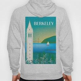 Berkeley, California - Skyline Illustration by Loose Petals Hoody