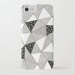 Pattern Triangles iPhone Case