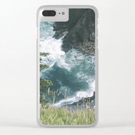 Oregon Coast XII Clear iPhone Case