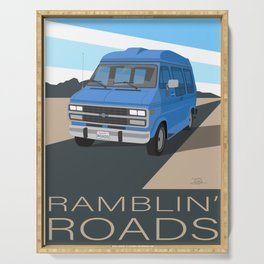 Ramblin' Roads Serving Tray