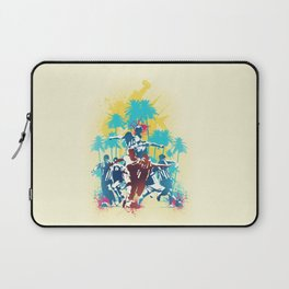 Colors of football Laptop Sleeve