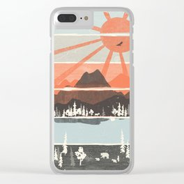 Morning by Bear River... Clear iPhone Case