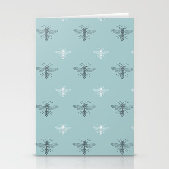 Sweet Bees  Stationery Cards