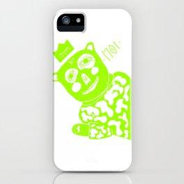 MOI - king bear iPhone Case