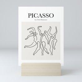 Picasso - Les Trois Danseuses Mini Art Print