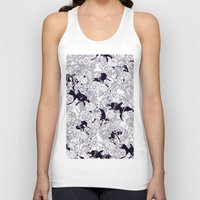 carpe Tank Tops featuring Hide and Seek by nicebleed