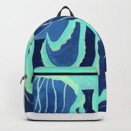 J is for Jellyfish Letter Alphabet Decor Design Art Pattern Backpack