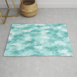 Cloudy Marble Rug