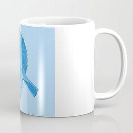 Mountain Bluebird in Flight Coffee Mug