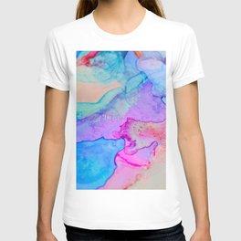 Pastel waves T-shirt