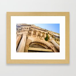 Sicilian Archways  Framed Art Print
