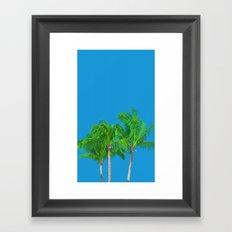 Palms tree Framed Art Print