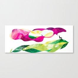 Dream land mug Canvas Print